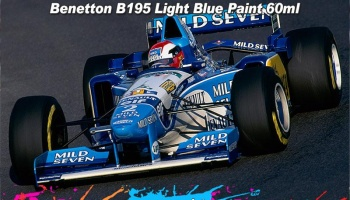 Benneton B187 - B198 Light Blue Paint - Zero Paints