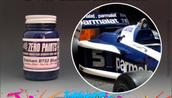 Brabham BMW BT52 - Blue - Zero Paints