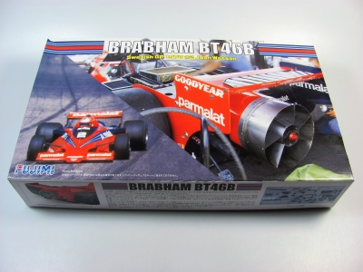 Brabham BT46B Clear Body- Fujimi