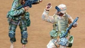 1/35 US Infantry Freedom Iraq part I (2 fig.)