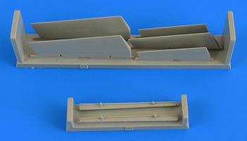 1/72 A-7 Corsair II control surfaces