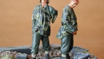 1/35 German Infantry at Rest (2 fig.)
