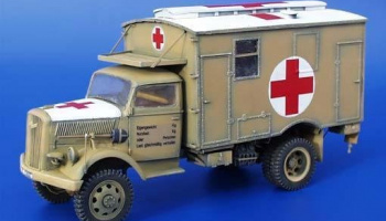 1/35 Opel Blitz 4x4 ambulance conversion set