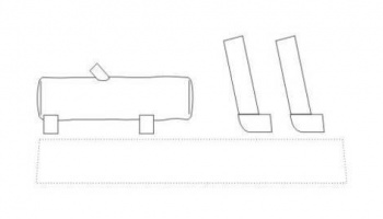 1/72 Exhaust for Pz.Kpfw IV for Rev,Drag,HAS it
