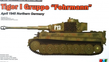 Tiger I Gruppe Fehrmann April 1945 Northern Germany - RFM