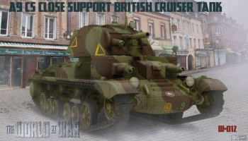 1/72 A9 CS Close Support British Cruiser Tank