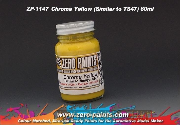 Chrome Yellow (TS47) - Zero Paints | Car-model-kit com