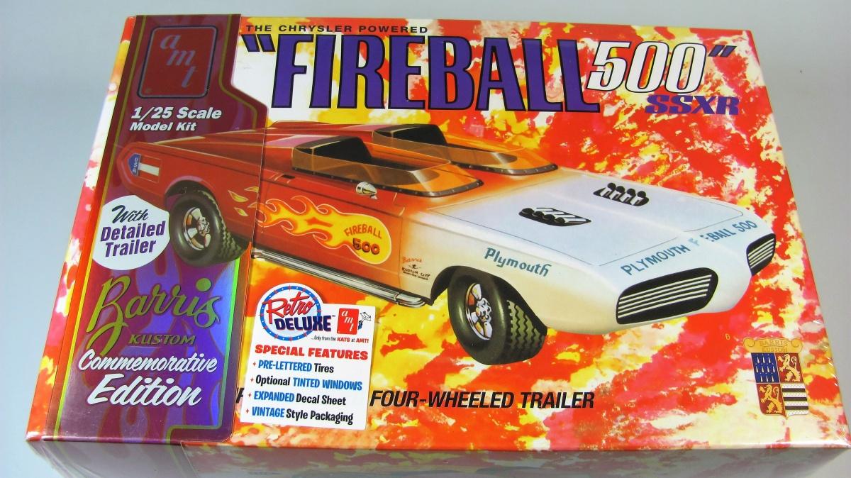 AMT 1//25 George Barris Fireball 500 Commemorative Plastic Model Kit AMT1068