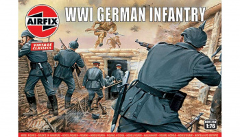 Classic Kit VINTAGE figurky A00726V - WW1 German Infantry (1:76)