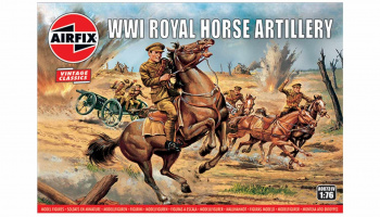 Classic Kit VINTAGE figurky A00731V - WW1 Royal House Artillery (1:76)