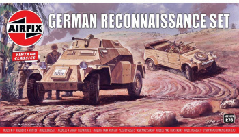 Classic Kit VINTAGE military A02312V - German Reconnaisance Set (1:76) – Airfix