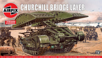 Classic Kit VINTAGE military A04301V - Churchill Bridge Layer (1:76)