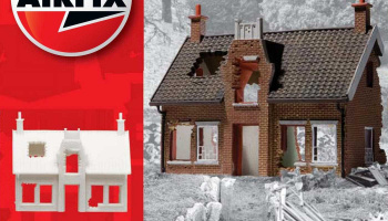 Classic Kit budova A75004 - European Country Cottage Ruin (1:76)
