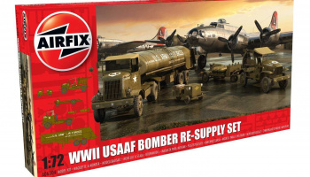 Classic Kit diorama A06304 - USAAF 8TH Airforce Bomber Resupply Set (1:72)