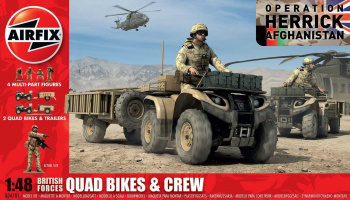 Classic Kit figurky A04701 - British Quad Bikes and Crew (1:48)