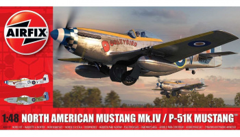 Classic Kit letadlo A05137 - North American Mustang Mk.IV (1:48)
