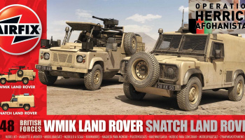 Classic Kit military A06301 - British Forces Land Rover Twin Set (1:48)