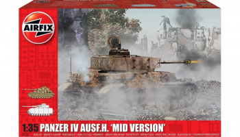 Panzer IV Ausf.H, Mid Version (1:35) Classic Kit A1351 - Airfix