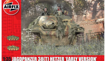 "Classic Kit tank A1355 - JagdPanzer 38(t) Hetzer ""Early Version"" (1:35)"