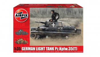 Classic Kit tank A1362 - German Light Tank Pz.Kpfw.35(t) (1:35)