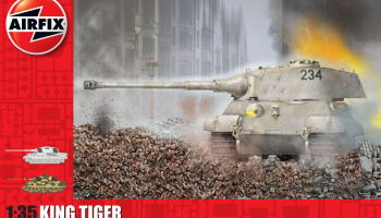 Classic Kit tank A1369 - King Tiger (1:35)