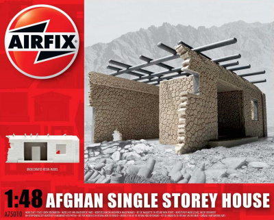 Classic Kit budova A75010 - Afghan Single Storey House (1:48)