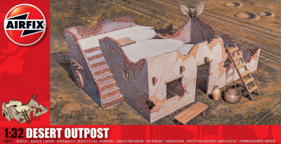 Classic Kit diorama A06381 - Desert Outpost (1:32) | Car-model-kit com