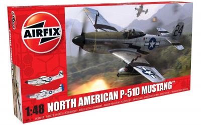 cba2e6d99 Classic Kit letadlo A05131 - North American P51-D Mustang (1:48) - nová  forma