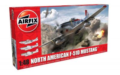 137aa26a1 Classic Kit letadlo A05136 - North American F-51D Mustang (1:48 ...