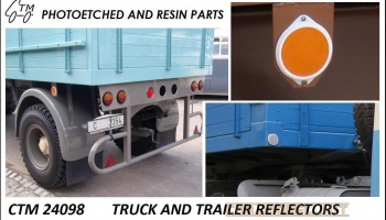 Truck and trailer reflectors - Czech Truck Model