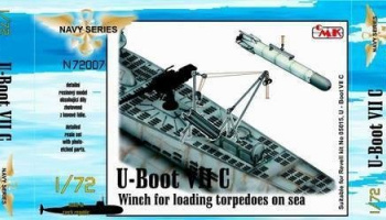 1/72 U-Boot VII Winch for loading torpedoes on sea