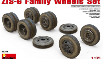 1/35 ZIS-6 Family Wheels Set