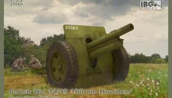 1/35 Polish Wz. 14/19 100mm Howitzer - Motorized Artillery