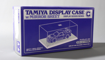 DISPLAY CASE C W/MIRROR SHEET 240X130X110mm - Tamiya