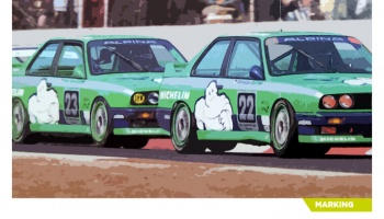 BMW M3 E30 Team Alpina - Decalcas