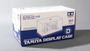 DISPLAY CASE D (240X130X140mm) - Tamiya