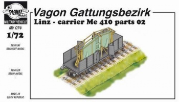 1/72 Wagon Linz carrier Me 410 parts 02