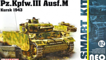 Pz.Kpfw.III Ausf.M Kursk 1943 Neo Smart Kit 1:35 - Dragon