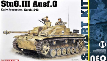 StuG.III Ausf.G - Neo Smart Kit 1:35 - Dragon