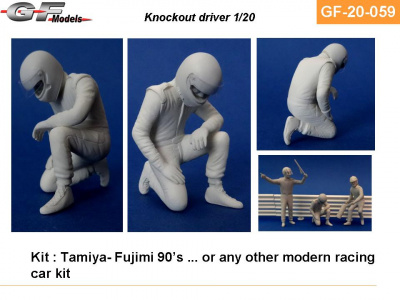 Driver Figure After Crash - GF Models