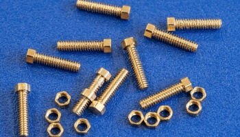 Micro Hexagon Bolt&Nut Set [No.02] - Model Factory Hiro