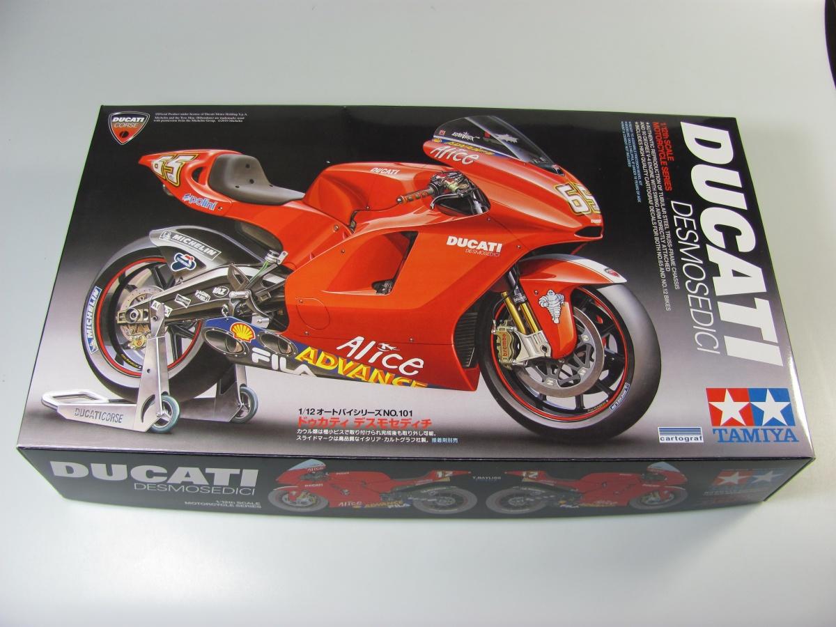 Ducati Desmosedici - Tamiya | Car-model-kit com