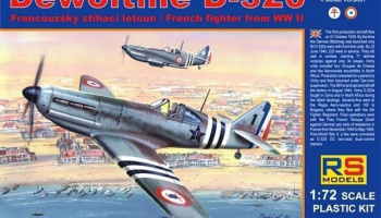 1/72 Dewoitine D-520 Free France
