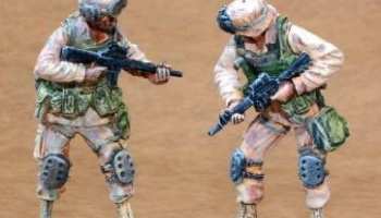 1/35 US Infantry Freedom Iraq part III (2 fig.)