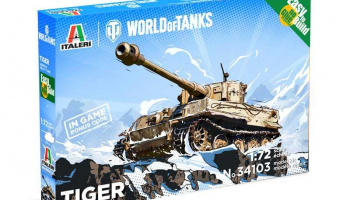 Easy to Build World of Tanks 34103 - Tiger (1:72)