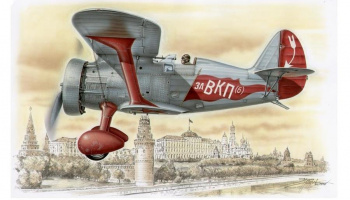 1/72 Polikarpov I-15 Red Army