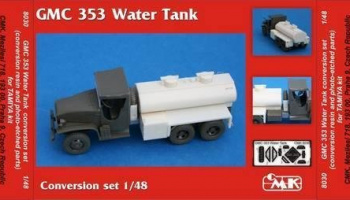 1/48 GMC 353 Water tank conv.set for TAM