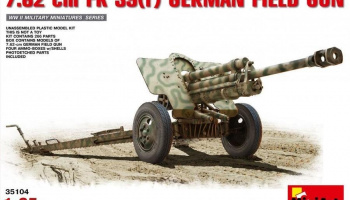 1/35 7,62 cm F.K. 39 ® German Field Gun