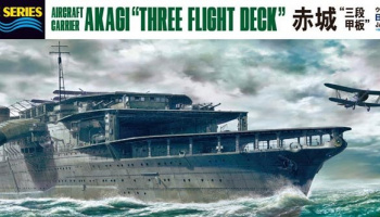 Japanese Aircraft Carrier Akagi Limited Edition (1:700)  - Hasegawa