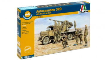 Fast Assembly military 7508 - Autocannon Ro3 with 90/53 AA gun (1:72)